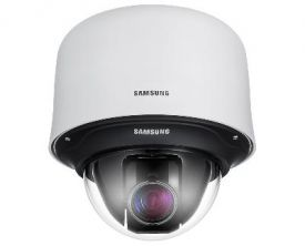 Samsung 25x Optical Zoom, 600 TV Lines, XDR, True Day/Night, SmartDome™ PTZ Camera