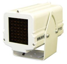 24 V Infrared Illuminator housed in heavy duty aluminum 40\'Range