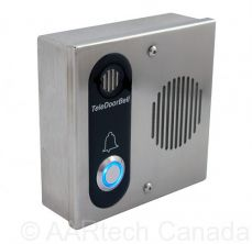 Teledoorbell Stainless Door Station with Audio