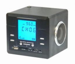 Hidden Clock DVR with MP3/MP4 Player