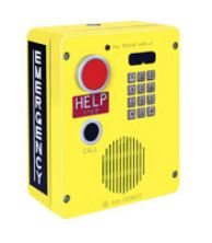 Emergency Telephone, Single-Button Auto-dial with CALL Pushbutton and Keypad, Surface-Mount
