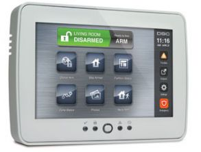TouchScreen Security Interface