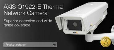 DCIPRO Axis Thermal camera with 10mm lens