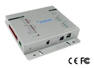 DCIACCESS GV-IO Box 8 provides 8 inputs and 8 relay outputs