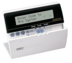 DCIALARM Keypad for Maxsys - French