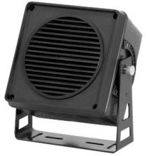 DCISPEAKER 5W Haut-Parleur de communication  noir 4'' (support inclus)