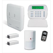 DCIALARM DSC Hybrid KIT Wireless includes 1 panel, Clavier, 1 détecteur de mouvement , 2 contact