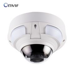 DCIDOME IP 2M Super Low Lux IR Vandal Proof IP Dome 3-9mm