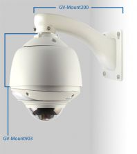 DCIH&B Wall Mount Bracket Dome Parapet