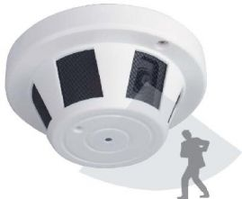Smoke Detector CCD, 1/4, 540TVL 3.6mm