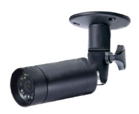 IR Bullet 1/3, - 3.6mm, 420TVL 0.2Lux -30°/+50° Int/Ext (Pinhole) 24x24x68mm Couleur CCD Sharp