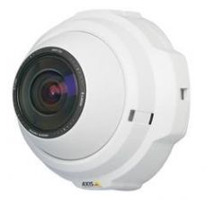 1/2, Progressive scan CMOS 3 Megapixel, 2.7 mm/F1.8, fixed iris, 3x instant zoom, 10 lux wide mode, 20Lux tele mode, Motion JPEG, MPEG-4, 640x480,  Up to 30FPS in VGA, 20 presets