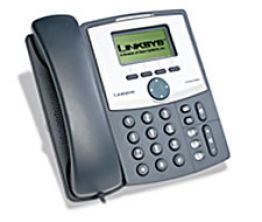 1-Line IP Telephone with 2-Port Ethernet Switch, PoE and Hi-Res Display