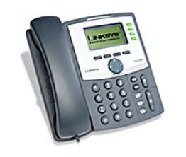2 or 4-Line IP Telephone with 1 Ethernet Port and Hi-Res Display