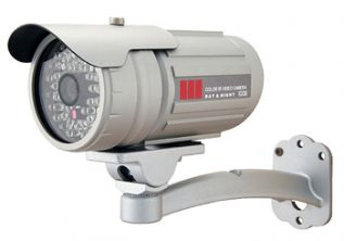 1/3, Color, SONY CCD, 540TVL, 6mm, 2.0/0.0Lux, 50 IR Leds, Range 40M, BLC, AWB, IP66