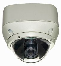 Vandal Proof Dome, 1/3, 480TVL, D&N, 4-9mm, 0.8Lux, 3 Axis mount