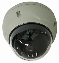 Vandal Proof Dome, 1/3, 540-580TVL, D&N, BLC, 2.6-6mm, 0.3-0.05Lux, 3 Axis mount
