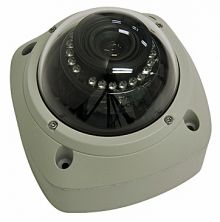 Infrared Vandal Proof Dome, 1/3, 540TVL, BLC, 4-9mm, 0.5-.0Lux, 3 Axis mount, 23 IR Leds